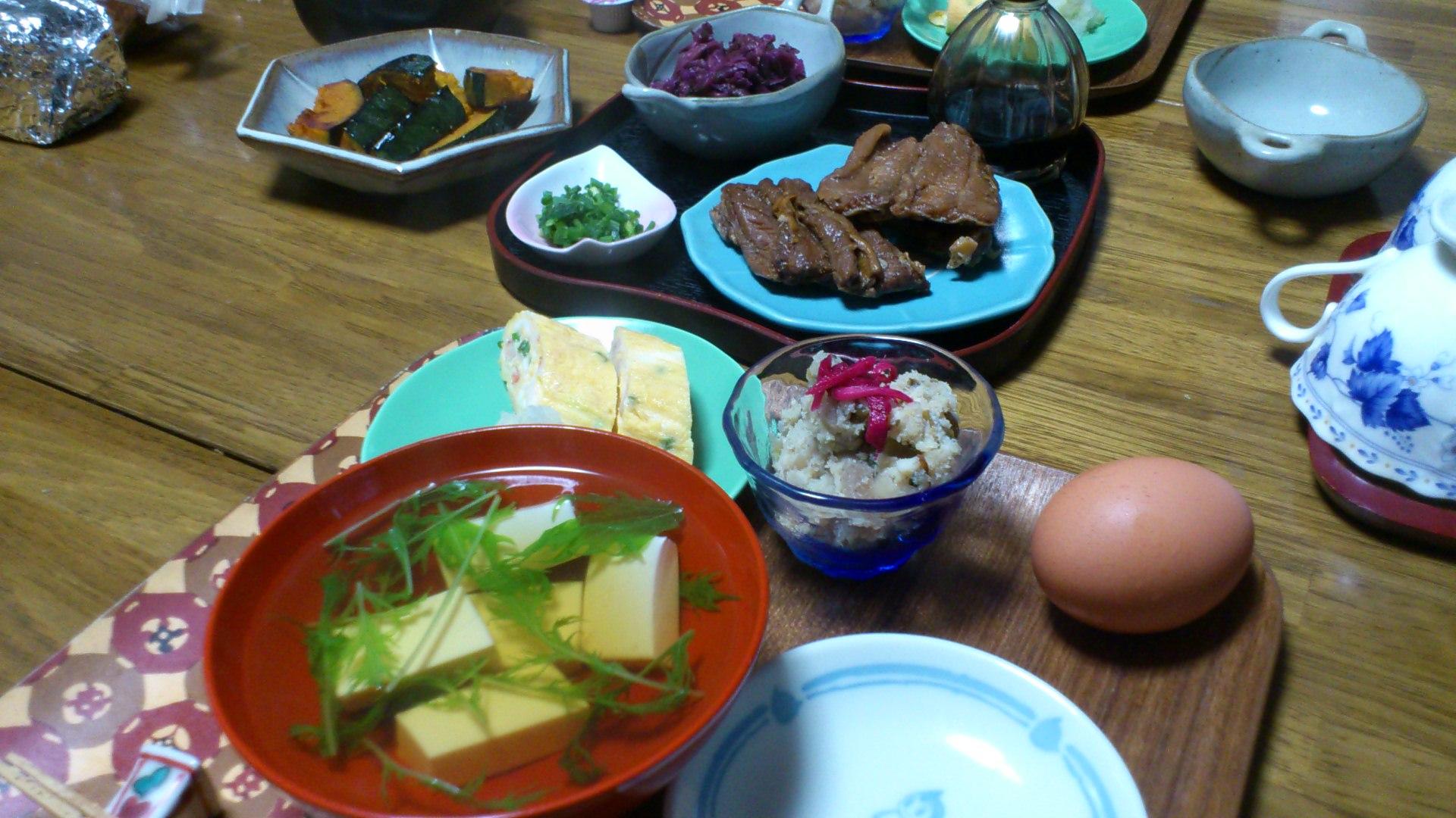 母の朝食〜〜料亭なみ!